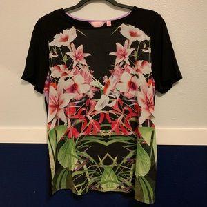 Ted Baker Flower Design Top Blouse